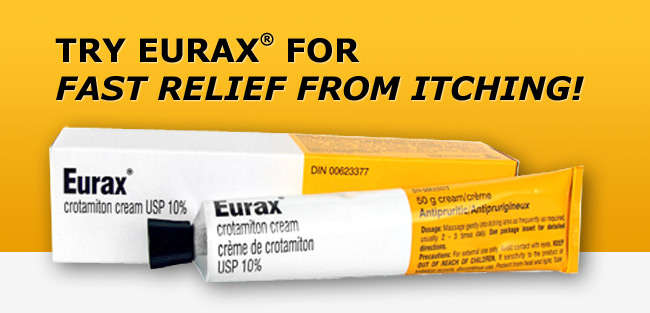 Try Eurax for fast relief from itching!